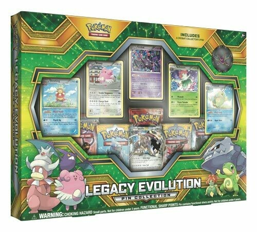Legacy Evolution Pin Collection -ENG-