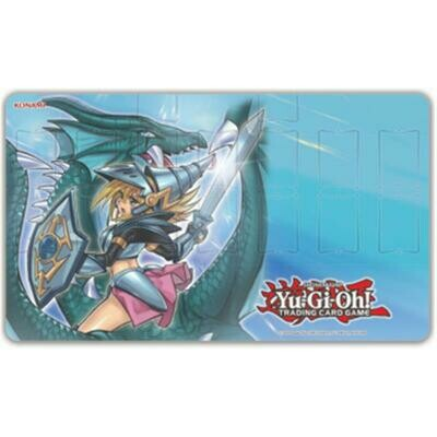 Yu-Gi-Oh! Playmat Dark Magician Girl the Dragon Knight