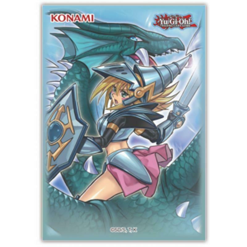 Mini Deck Protector Yu-Gi-Oh! Dark Magician Girl the Dragon Knight