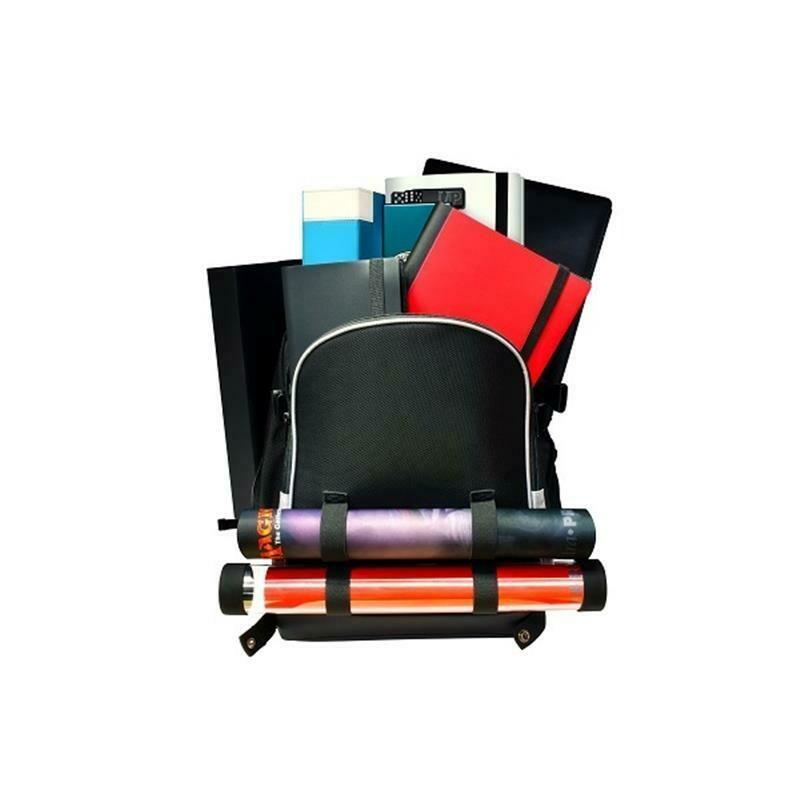 E-85350 Zaino Citadel Backpack - Black with Silver Trim