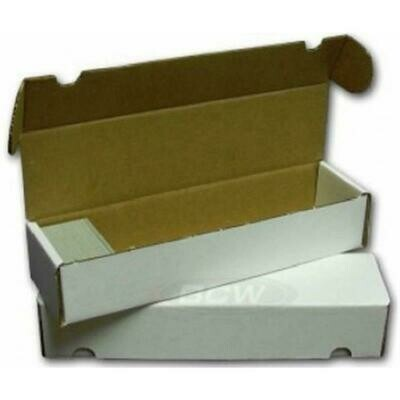KB1000 Cardbox / Fold-out Box with Lid for Storage of 1.000 Cards