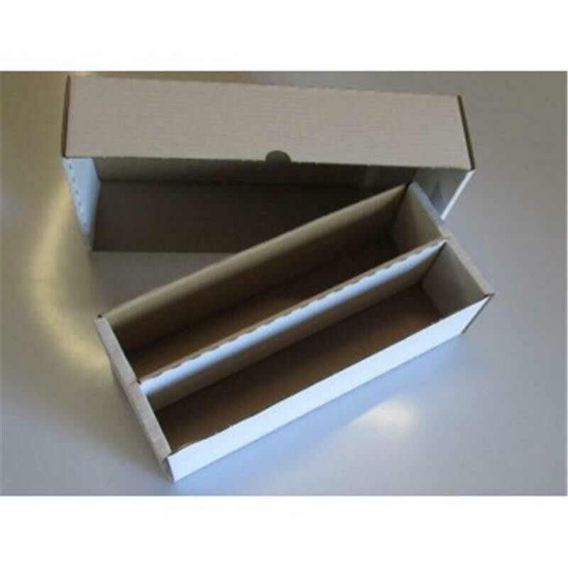 KB2000 Cardbox / Fold-out Box with Lid for Storage of 2.000 Cards