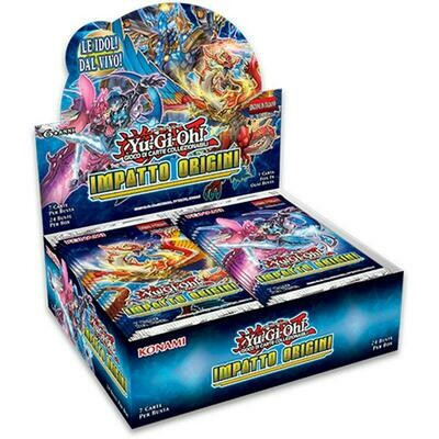 Box YGO Impatto Origini Display (24 buste) 1 Ed.