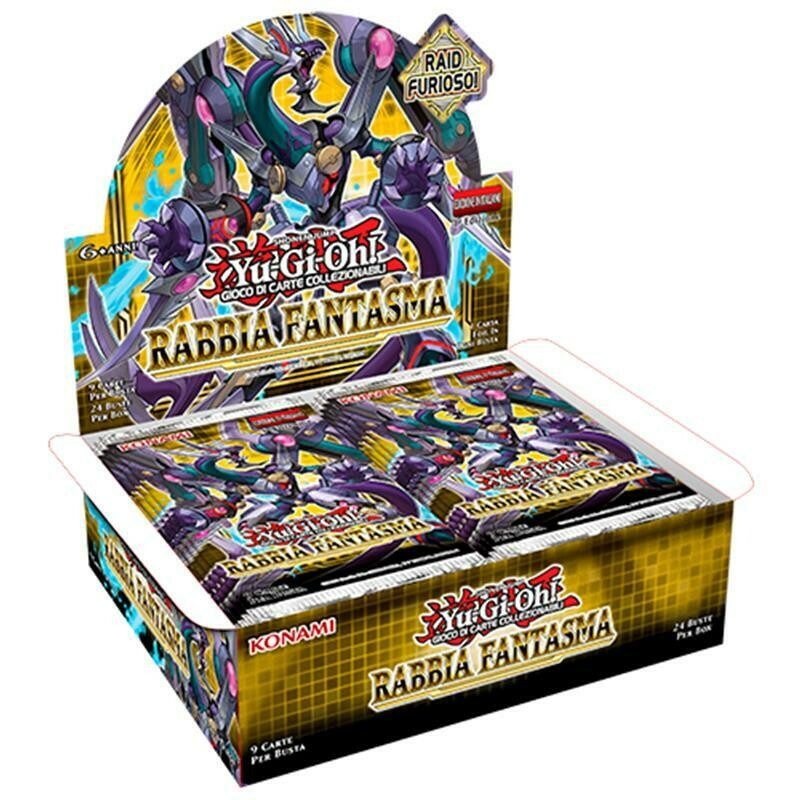 Box YGO Rabbia Fantasma Display 24 buste 1 Ed