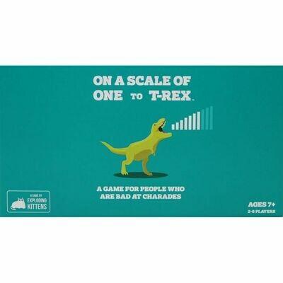 Su Una Scala da 1 a T-Rex - dal28/02/2021