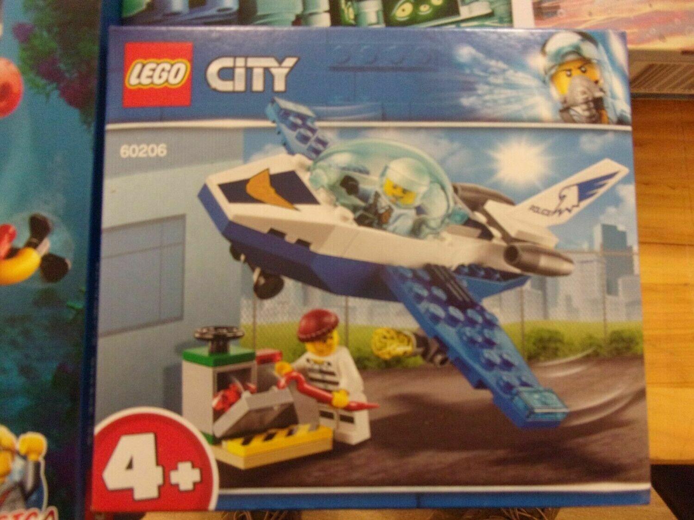 LEGO CITY 60206 - PATTUGLIAMENTO DELLA POLIZIA AEREA -