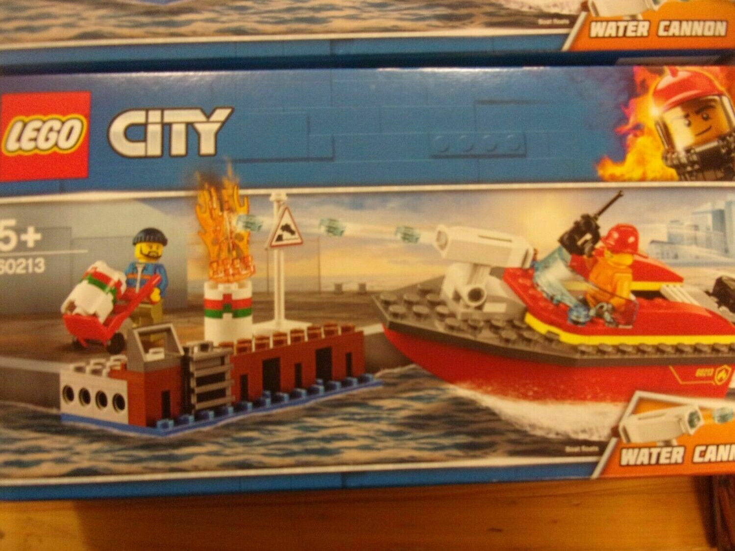 Lego 60213 City Incendio sul molo