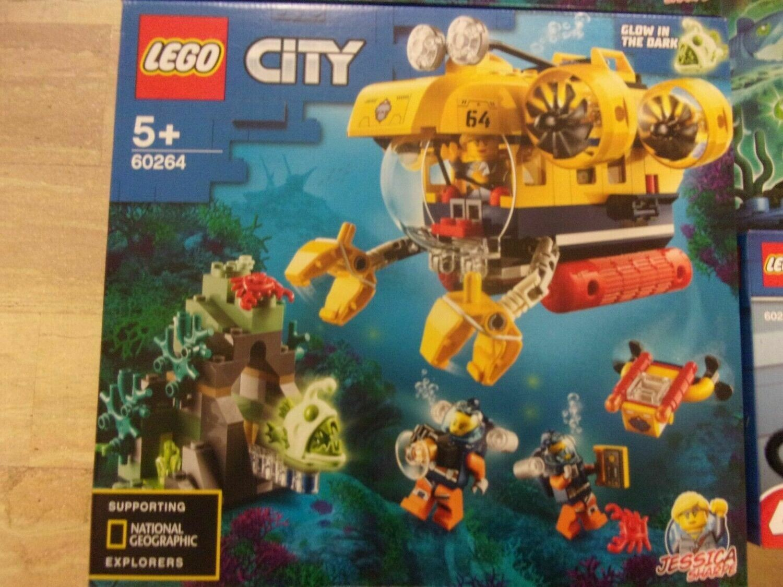 LEGO CITY 60264 - SOTTOMARINO DA ESPLORAZIONE OCEANICA -
