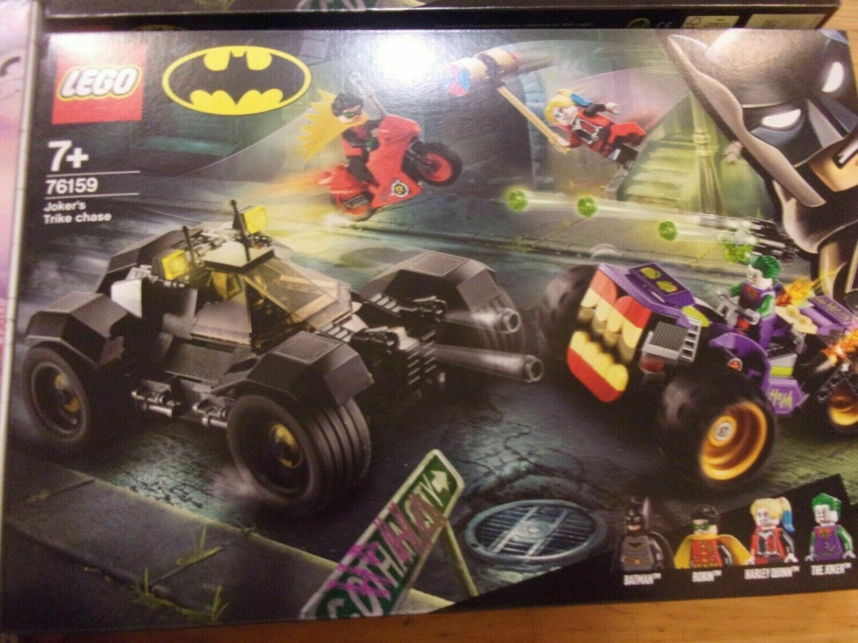 ALL'INSEGUIMENTO DEL TRE RUOTE DI JOKER -LEGO BATMAN -76159-