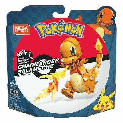 Pokémon Mega Construx Wonder Builders Construction Set Charmander 10 cm  -dal28/02/2021