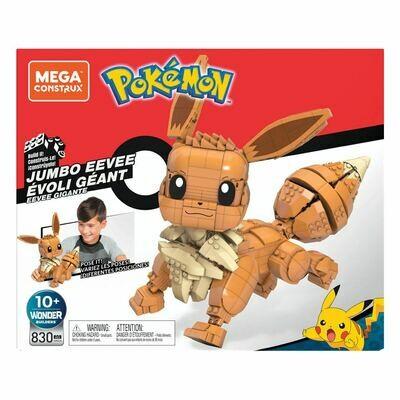 Pokémon Mega Construx Wonder Builders Construction Set Jumbo Eevee 29 cm Set construzioni Pokémon -dal28/02/2021