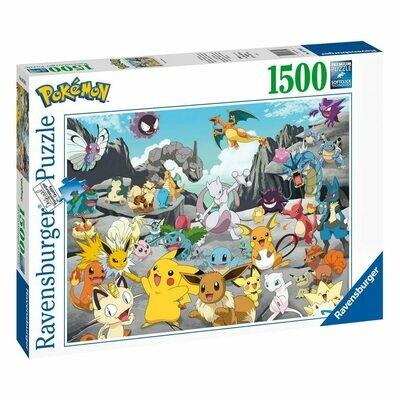 Pokémon Jigsaw Puzzle Pokémon Classics (1500 pieces) -DAL 05/04/2021