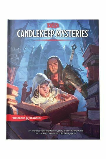Dungeons & Dragons RPG Adventure Candlekeep Mysteries -dal 16/03/2021