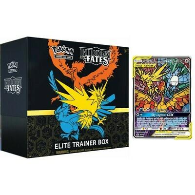 Pokemon- Elite Trainer Box - Hidden Fates (ENG) -reprint- dal 26/02/2021