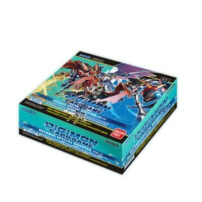 Box Digimon Card Game BT01-03 Special Booster Ver. 1.5 -ENG- dal 12/03/2021