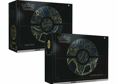 Sword and Shield Elite Trainer Box Plus -Zacian O Zamazenta -ENG-