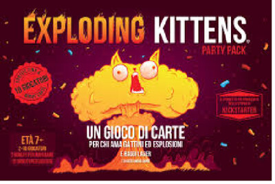 Exploding Kittens - Party Pack -ita-