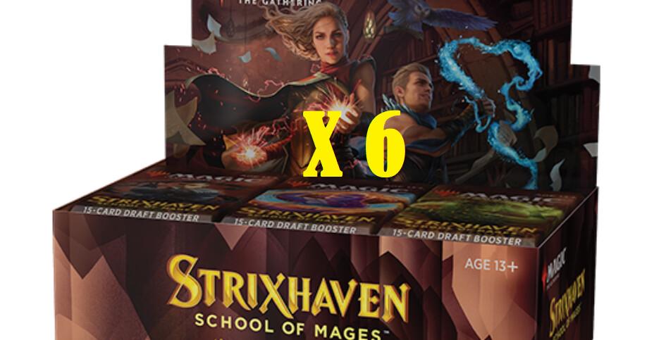 STRIXHAVEN DRAFT CASE -6 BOX- -ENG-