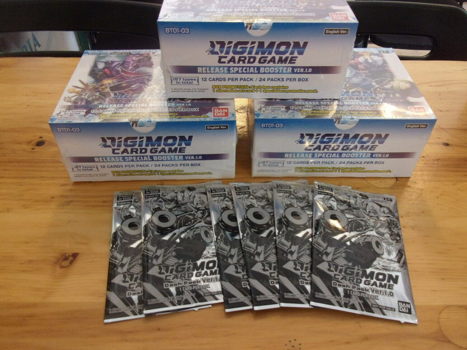 Digimon TCG Set. 1 Booster Box - Eng-