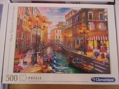 Puzzle 500 pz -corso