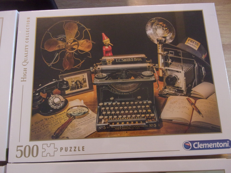 Puzzle 500 pz -vintage