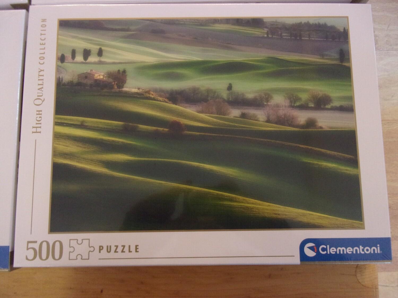 Puzzle 500 pz -colline toscane