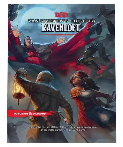 Van Richten's Guide to Ravenloft  -ENG- normal o variant cover -