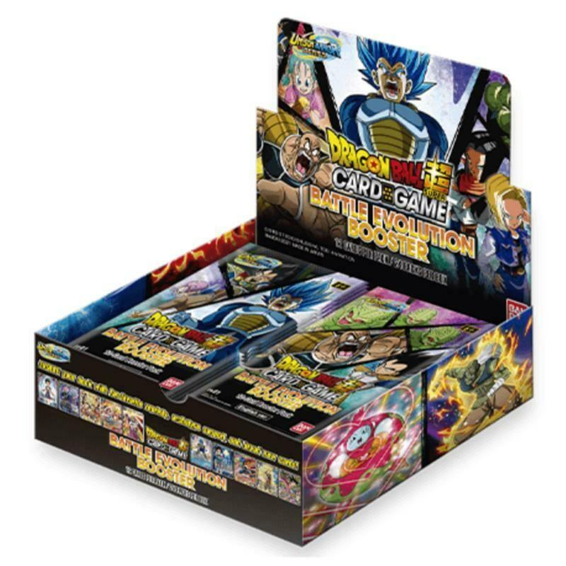 Dragon Ball Super EB01 Battle Evolution Box -ING-