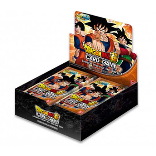 Dragon Ball Union Warrior Series Set 4 Supreme Rivalry display 24 buste -ENG -
