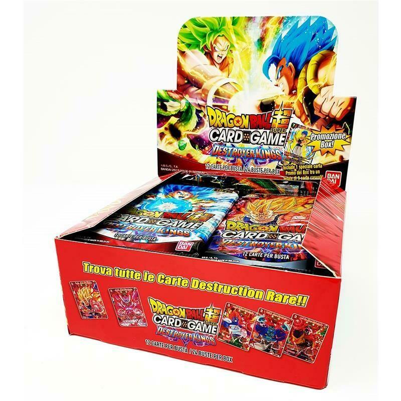 Dragon Ball Super DBS6 Box Destroyer Kings (24 buste) in Italiano
