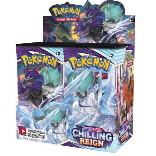 Box Pokemon Chilling Reign