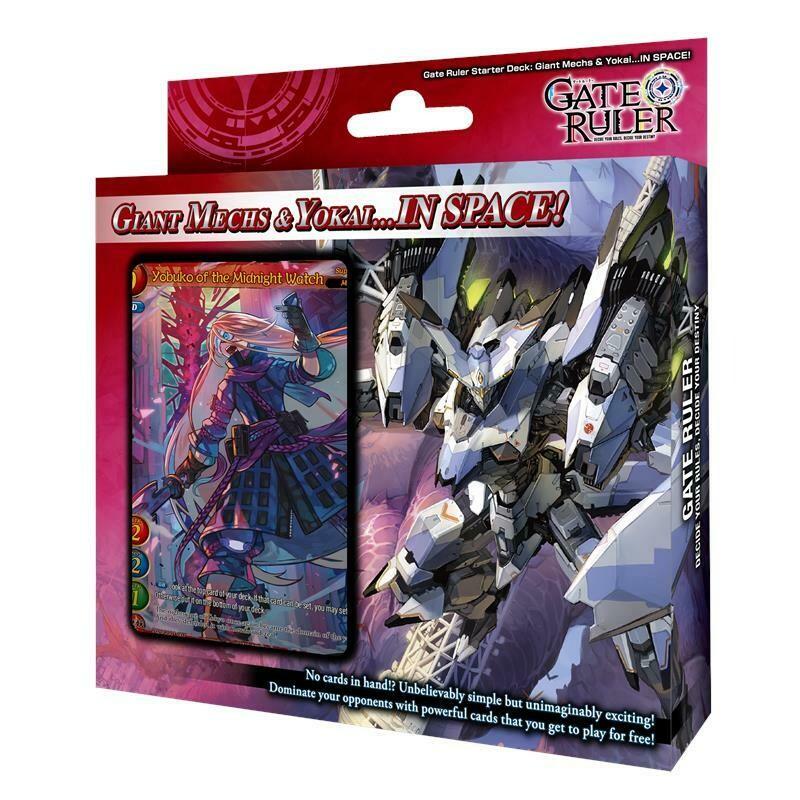 Gate Ruler Starter Deck Giant Mechs & Yokai - dal 30/04/21