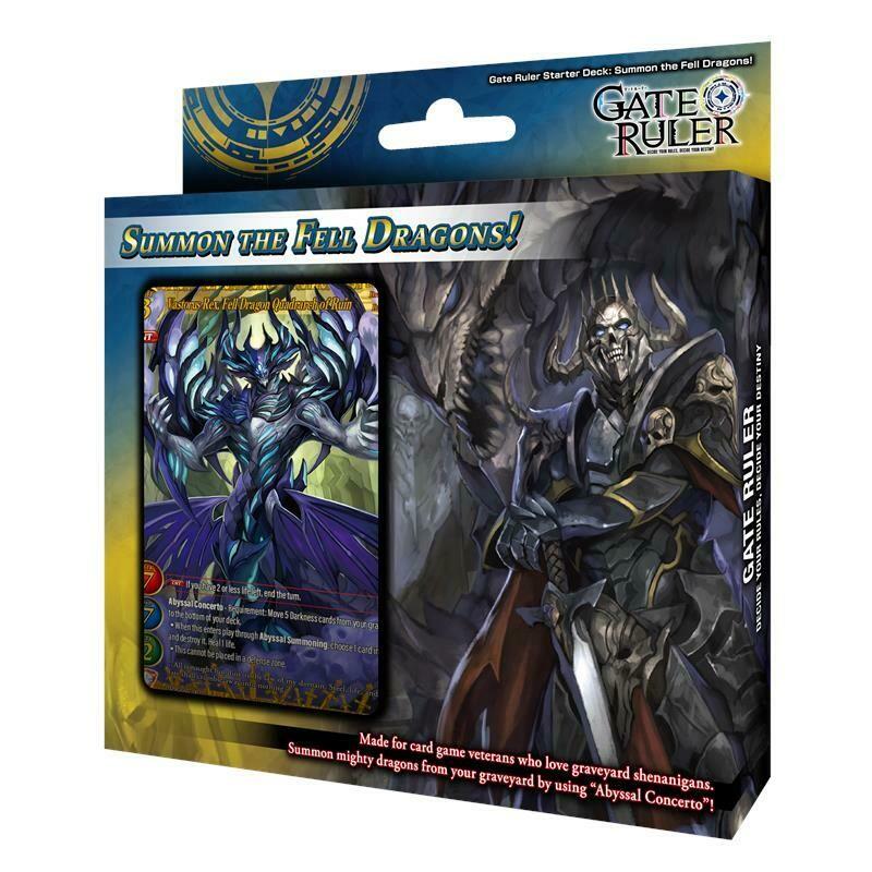 Gate Ruler Starter Deck Summon the Fell Dragons - dal 30/04/21