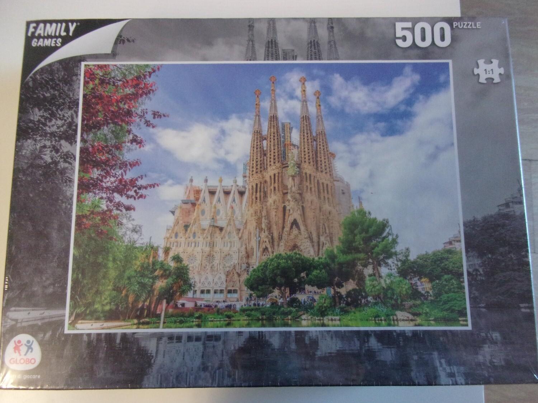Puzzle 500 pz -cattedrale