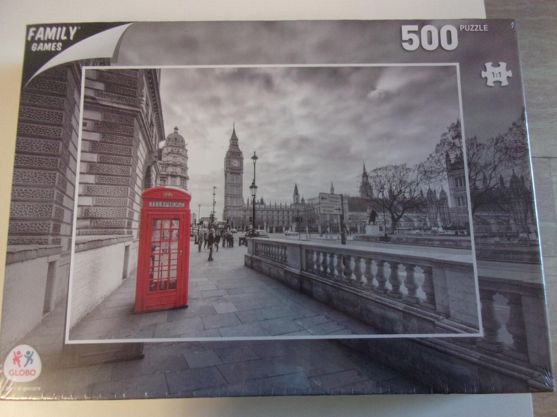 Puzzle 500 pz -cabina rossa