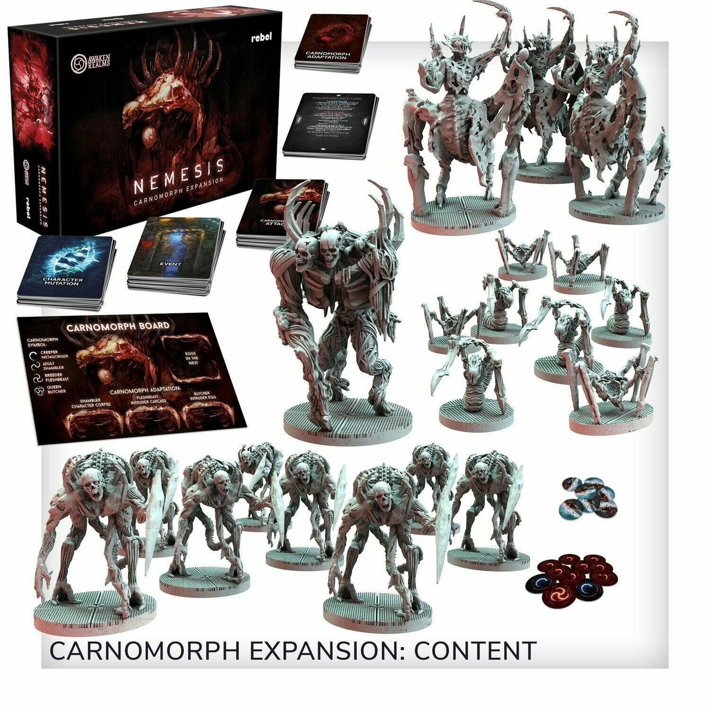 Nemesis: Carnomorphs -ITA- dal 31/07/2021