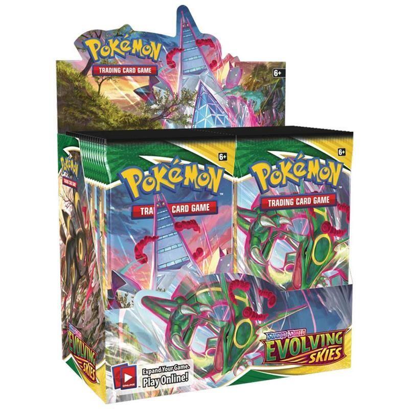 Evoluzioni Eteree Box 36 bustine - Pokemon-dal 27/08/2021