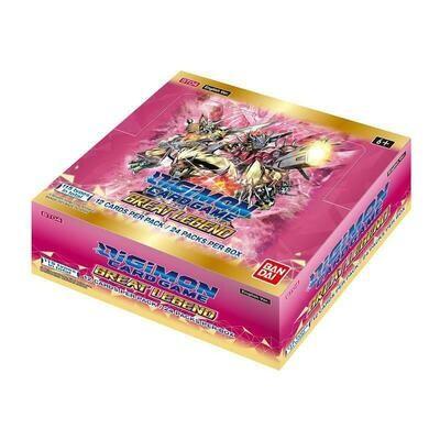Box Digimon Card Game BT04 Great Legend