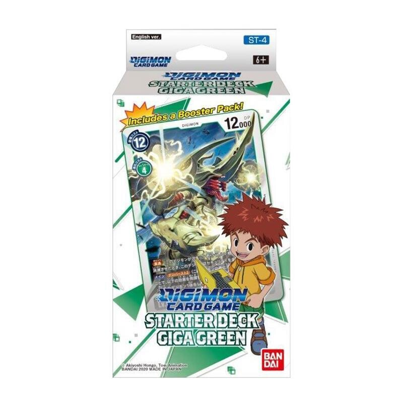 Digimon Card Game ST-4 Starter Deck Giga Green