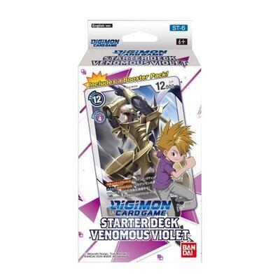Digimon Card Game ST-6 Starter Deck Venomous Violet