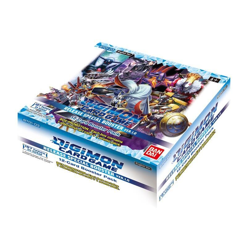 Digimon TCG Set. 1.0 Booster Box - Eng-