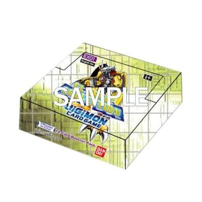 Box Digimon Card Game EX-01 Classic Collection -dal 03/12/2021