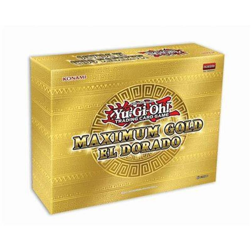 Pack YGO Oro Massimo - Holiday Box El Dorado -ITA- dal 18/11
