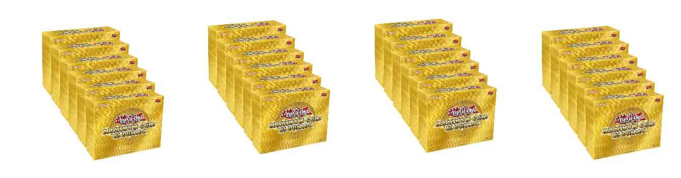 Cassa YGO Oro Massimo - Holiday Box El Dorado -ITA- (24 confezioni) dal 18/11