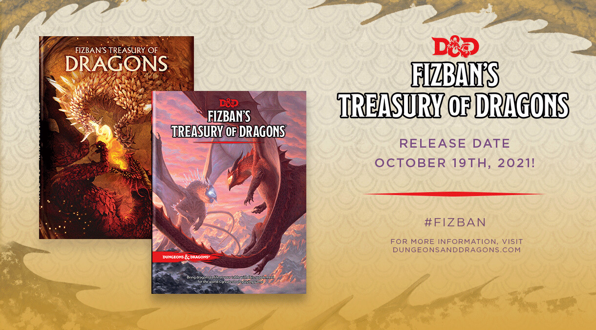 Fizban's Treasury of Dragons -ENG- normal o variant cover - dal 19/10/2021