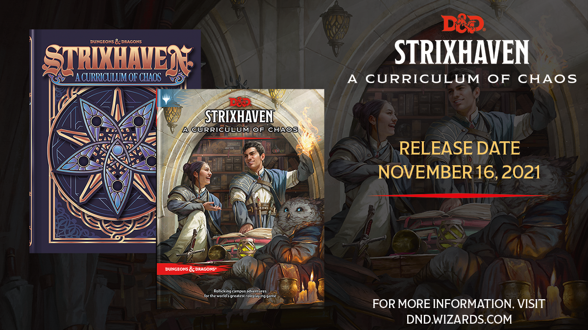 Strixhaven: A Curriculum of Chaos - ENG- normal o variant cover - dal 16/11/2021