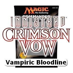 Innistrad Promessa Cremisi -Commmander Deck Vampiric Bloodline - ITA -dal 19/11/2021