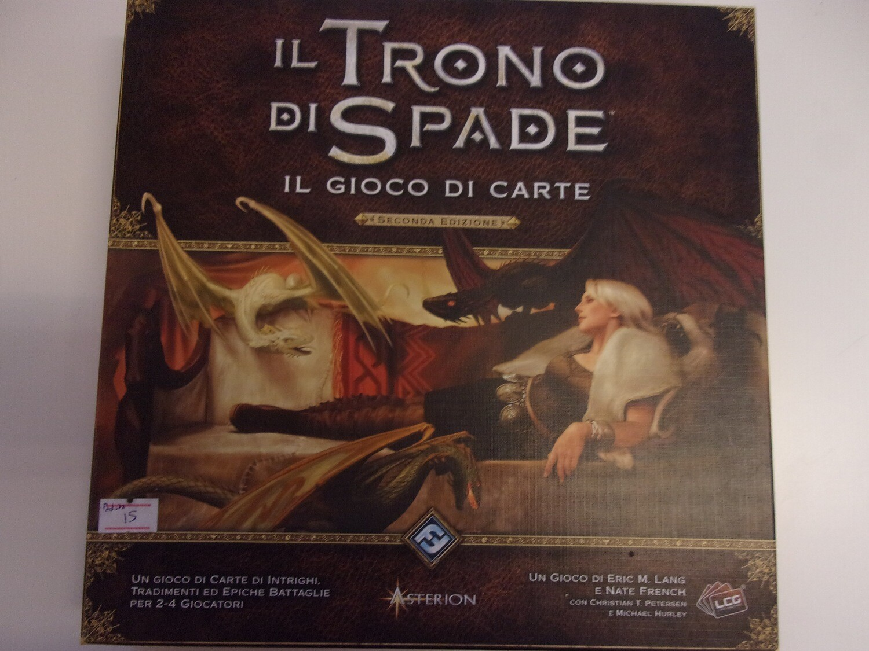 il Trono di Spade il gioco di carte -usato-