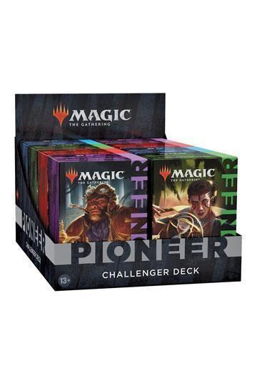 Magic the Gathering Pioneer Challenger Deck 2021 Display (4) english -dal 15/10/2021