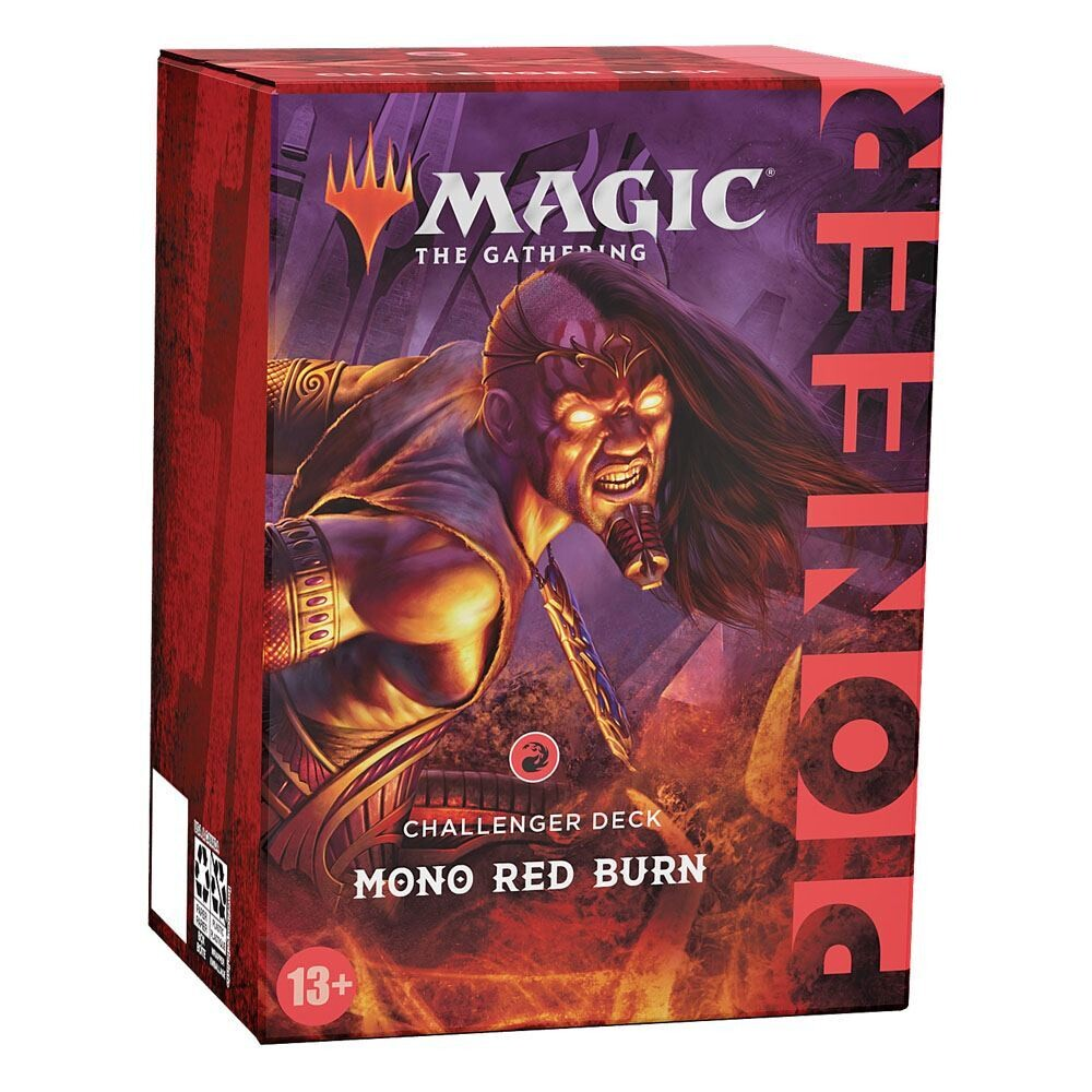 Magic the Gathering Pioneer Challenger Deck 2021 Mono Red Burn english -dal 15/10/2021